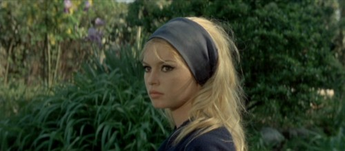 "Brigitte Bardot dans ""Le mépris"" de Jean-Luc Godard en 1963"