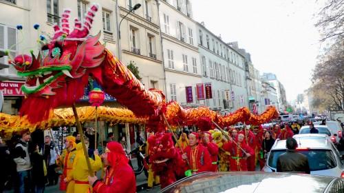 Le Dragon de Belleville pour la Fête du Printemps 2011